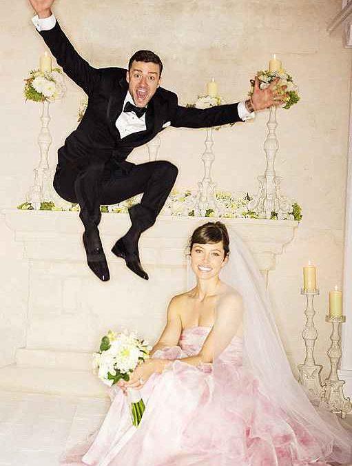 Jessica Biel and Justin Timberlake Wedding