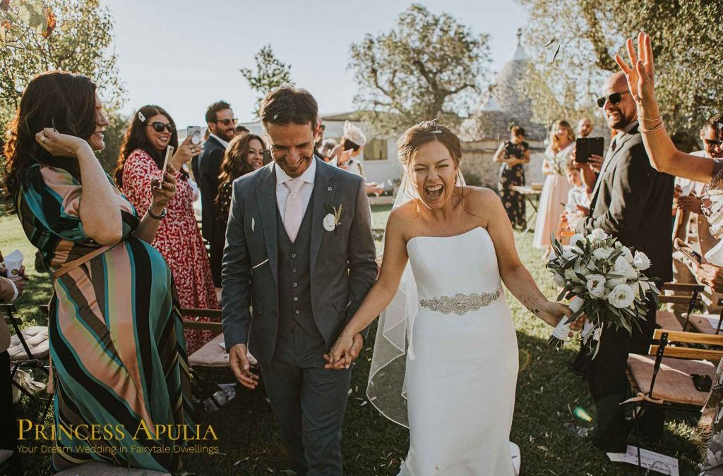 An intimate fairytale wedding in a magical place, Puglia