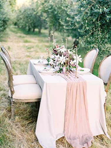 fabric table for wedding