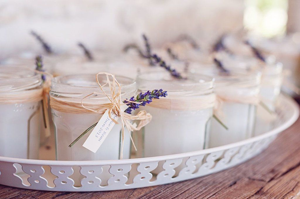 Scented wedding favors