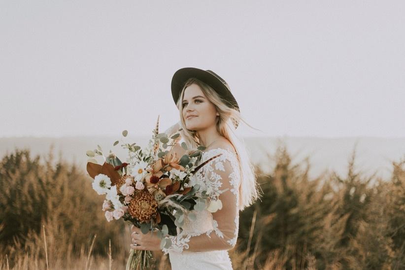 Natural Tones wedding