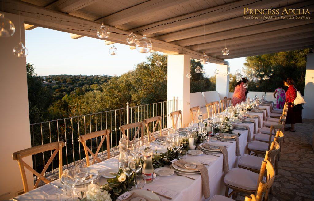 apulian wedding tables
