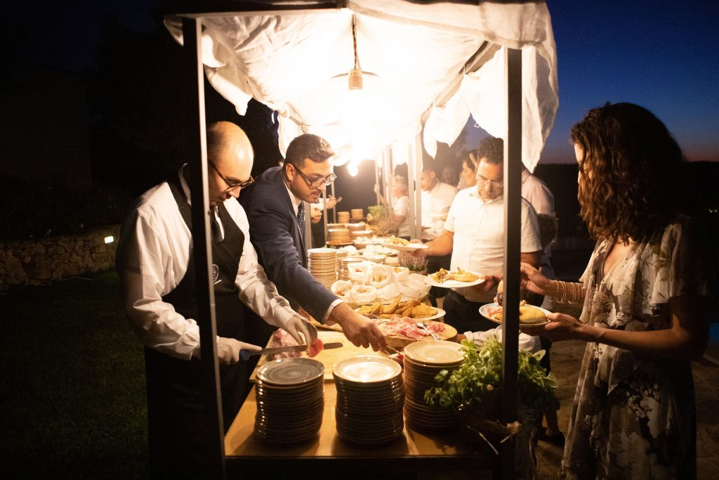 wedding catering in puglia