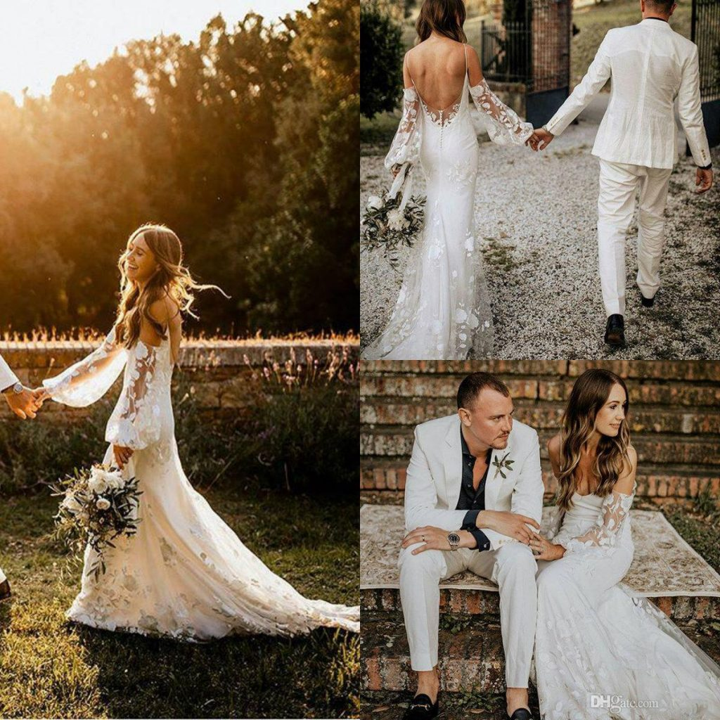 ideal wedding dress to wear