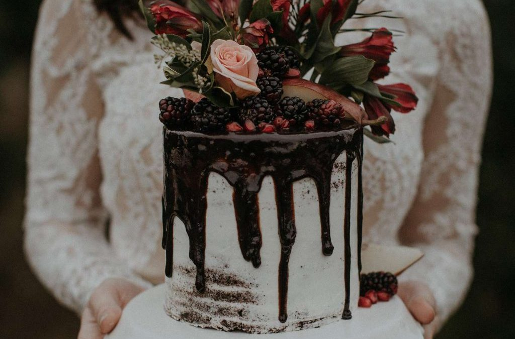 Drip cake for wedding, a new trend
